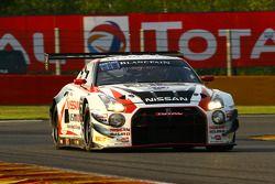 #35 日产 GT学院车队 RJN 日产 GT-R Nismo GT3: 马克·舒尔茨斯基, 柳田真孝, 米盖尔·法伊斯卡, 千代胜正