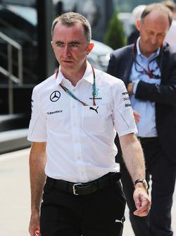 Paddy Lowe, Director Ejecutivo de F1 Mercedes AMG (técnico).