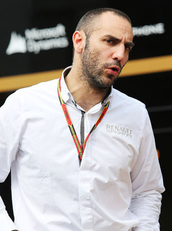 Cyril Abiteboul, Renault Sport F1 Managing Director.