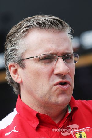 Pat Fry, Ferrari Vice Direttore Tecnico e Responsabile Ingegneri di pista