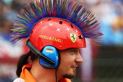 Casco de Michael Schumacher, .