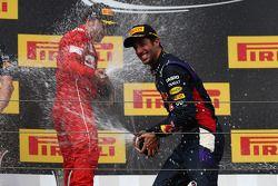 Daniel Ricciardo, Red Bull Racing RB10, Fernando Alonso, Ferrari