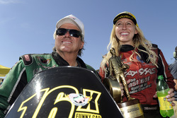 John Force et Courtney Force