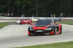 #4 2010Audi R8 LMS: Eric Johnson