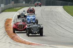 Tight racing in the Pre-War group.