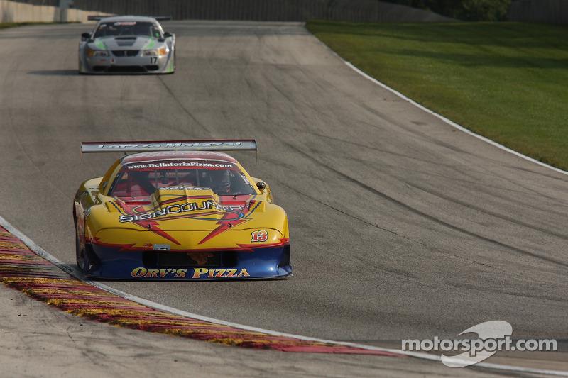 #13 190 雪佛兰 科迈罗 GT1: 里克·普夫朗