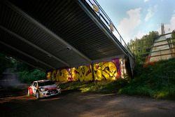 Kris Meeke and Paul Nagle, Citroën DS3 WRC, Citroën Total Abu Dhabi World Rally Team