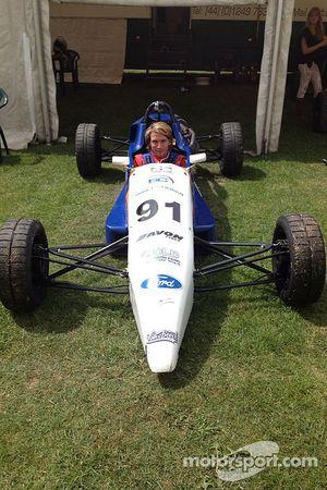 Freddie Hunt in his Formula Ford