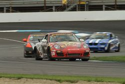 #7 Rebel Rock Racing Porsche 997: Al Carter, Brett Sandberg