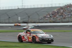 #88 Rebel Rock Racing Porsche Cayman: Corey Fergus, Tom Dyer