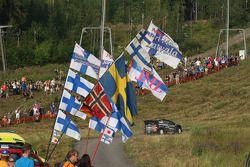 Яркко Каллиолепо и Яркко Никара. Ралли Финляндия, тестовый СУ.