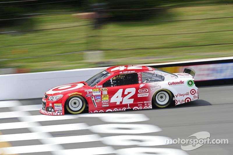 2014: Kyle Larson (Ganassi-Chevrolet) mit 49,063 Sekunden