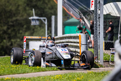 Jules Szymkowiak, Van Amersfoort Racing Dallara F312 Volkswagen retires with a bent suspension