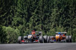 Esteban Ocon, Prema Powerteam Dallara F312 Mercedes, Tatiana Calderon, Jo Zeller Racing Dallara F312