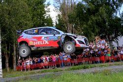 Juho Hanninen y Tomi Tuominen, Hyundai i20 WRC, Hyundai Motorsport