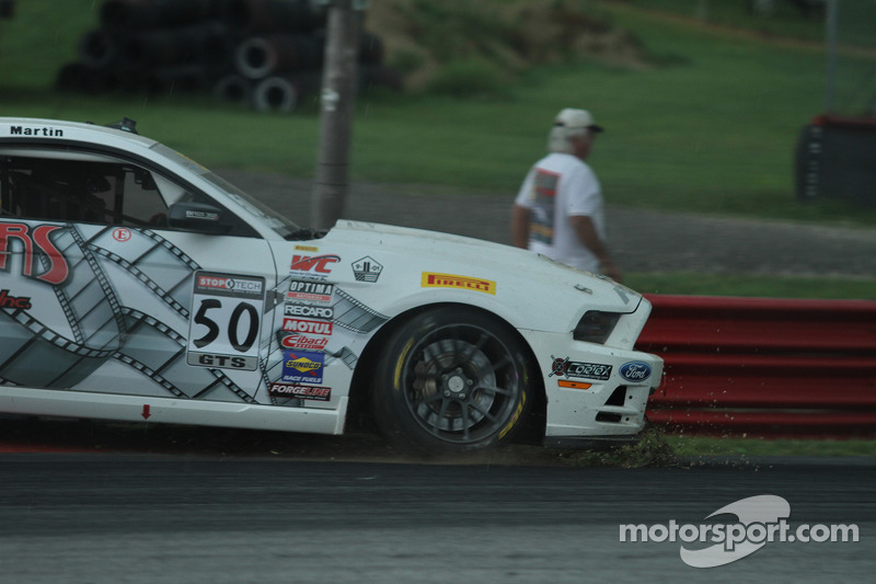 Dean Martin, Ford Mustang Boss 302S rejoins the race