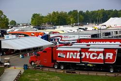 Indy Car Paddock