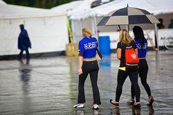 K-Pax Promotional Girls under umbrella