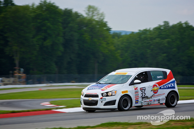 #35 Heinrocket, Inc. Chevrolet Sonic: John Heinricy