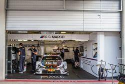 The winning BMW Team RMG BMW M4 DTM of Marco Wittmann