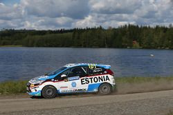 Sander Parn y James Morgan, Ford Fiesta R2