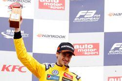Podium: second place Antonio Giovinazzi