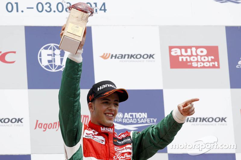 Podyum: Yarış galibi Antonio Fuoco