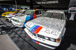 Klasik BMW sergisi padokta