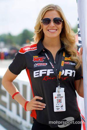 EFFORT Racing Promotional Girl