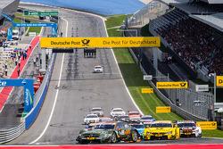 Départ : Robert Wickens, HWA DTM Mercedes AMG C-Coupé