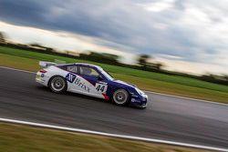 #44 Team Parker Racing Porsche 997 GT4: Barrie Baxter, Dan Cammish