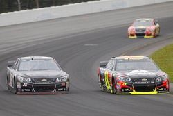 Reed Sorenson, Chevrolet and Jeff Gordon, Hendrick Motorsports Chevrolet