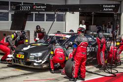 Boxenstopp Adrien Tambay, Audi Sport Team Abt, Audi RS 5 DTM