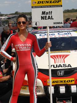 Honda Yuasa Racing pitspoes