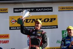 Il vincitore della gara: Aron Smith