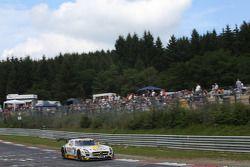 #6 Rowe Racing Mercedes SLS AMG GT3: Michael Zehe, Jan Seyffarth