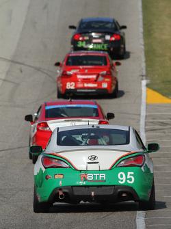 #95 Irish Mike's Racing Hyundai Genesis Coupe: Charles Espenlaub, Cameron Lawrence
