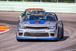#9 Stevenson Motorsports Camaro GS.R: Matt Bell, Andy Lally
