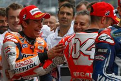 Pole position Marc Marquez, Repsol Honda Team