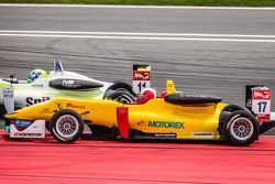 Richard Goddard, ThreeBond with T-Sport Dallara F312 NBE en Sandro Zeller, Jo Zeller Racing Dallara