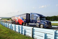 BK丰田车队阿莱克斯·鲍曼的货柜车