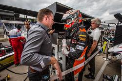 Jos Verstappen avec Max Verstappen, Van Amersfoort Racing Dallara F312 Volkswagen