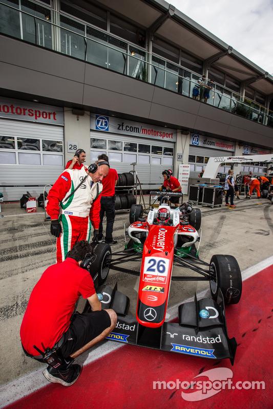 Dennis van De Laar, Prema Powerteam Dallara F312 Mercedes