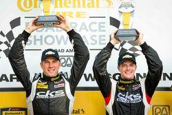 Racewinnaars Lawson Aschenbach en Eric Curran