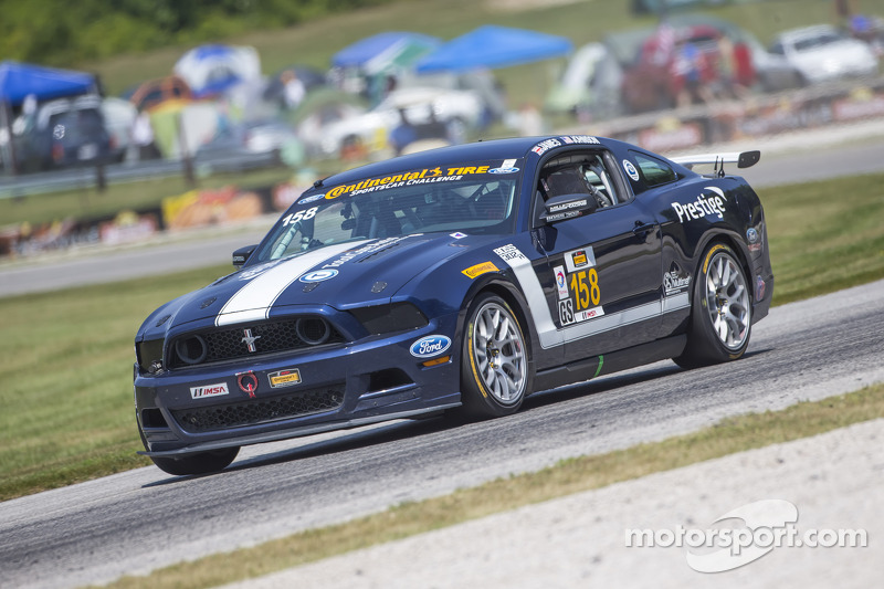 #158 Multimatic Motorsports 野马 Boss 302R: 伊恩·詹姆斯, 比利·约翰逊