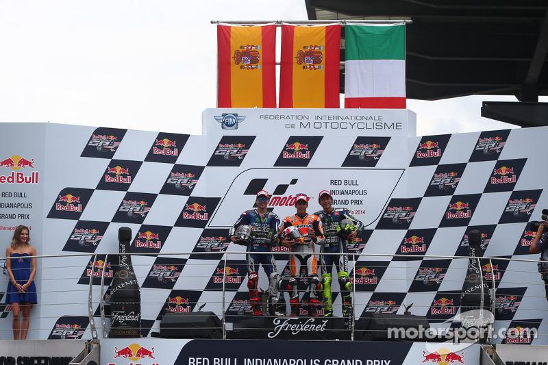 #16 Podium : Marc Márquez, Jorge Lorenzo, Valentino Rossi