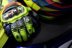 Gloves of Valentino Rossi