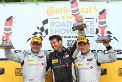 PC class podium: winners Mirco Schultis, Renger van der Zande