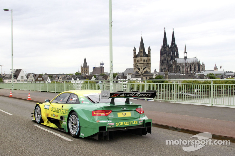 La vettura di Mike Rockenfeller, Audi Sport Team Phoenix Audi RS 5 DTM