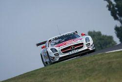 #27 H.T.P. Motorsport Mercedes-Benz SLS AMG GT3: Mathias Lauda, Luca Stolz